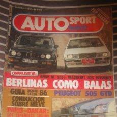 Coches: REVISTA AUTO HEBDO Nº 80 BMW M 535 CITROEN CX COCHES CLASICOS AUTOMOVIL FORMULA 1 RALLYE. Lote 36245405