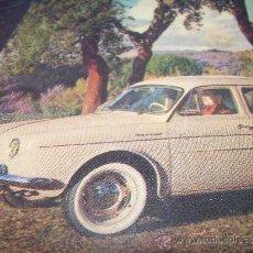 Coches: ANTIGUA POSTAL FOTOGRAFICA.......PRESENTACION DEL DAUPHINE...1956. Lote 36273243