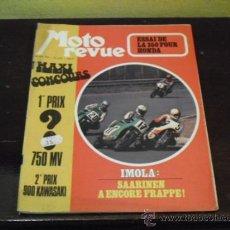 Coches: MOTO REVUE Nº 2.121 - PRUEBA HONDA FOUR 350 - SOLEX 6000 - SANGLAS 400 -. Lote 36321474