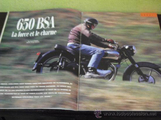 Coches: MOTO LEGENDE Nº 25 - PRUEBA MUNCH 1200 - BSA 650 - - Foto 6 - 36428422