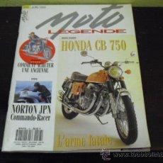 Coches: MOTO LEGENDE Nº 26 - HONDA CB 750 - MONTESA COTA 247 -. Lote 36428259
