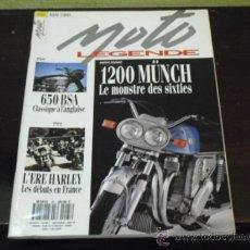 Coches: MOTO LEGENDE Nº 25 - PRUEBA MUNCH 1200 - BSA 650 - . Lote 36428422