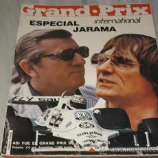 Coches: REVISTAS DE COCHES GRAND - PRIX ( ESPECIAL INTERNACIONAL JARAMA ) 1 - 06 - 1980. Lote 36637309