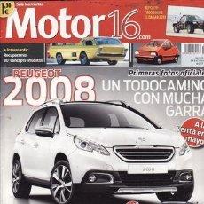Coches: REVISTA MOTOR 16 Nº 1526 AÑO 2013. PRU: AUDI A3 SPORTBACK 2.0 TDI 150 CV VW TOUAREG 3.0 TDI V6 204CV. Lote 36730008