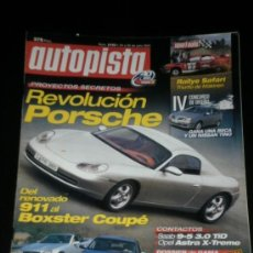 Coches: AUTOPISTA Nº 2193 - JUL 2001 - MERCEDES SLK AMG / FORD FOCUS / VOLVO S60 D5 / CHRYSLER CROSSFIRE. Lote 51056730