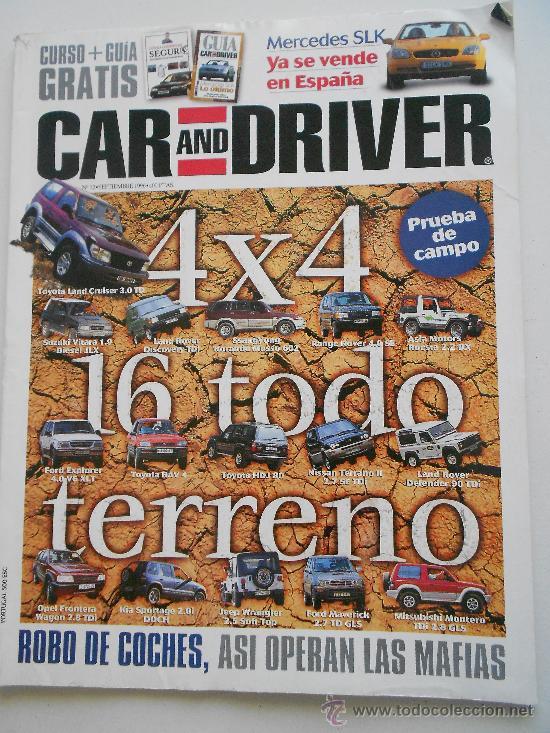 CAR AND DRIVER (Coches y Motocicletas Antiguas y Clásicas - Revistas de Coches)