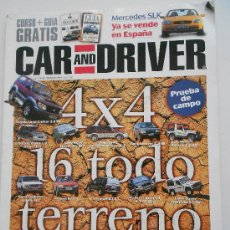 Coches: CAR AND DRIVER. Lote 36960286