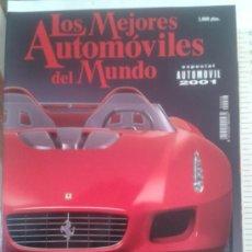 Coches: -LOS MEJORES AUTOMOVILES DEL MUNDO -ESPECIAL AUTOMOVIL 2001. Lote 36980921