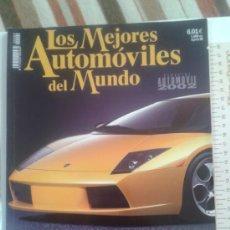 Coches: -LOS MEJORES AUTOMOVILES DEL MUNDO -ESPECIAL AUTOMOVIL 2002. Lote 36980956