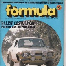 Voitures: REVISTA FÓRMULA Nº 135 AÑO 1976. PRUEBA: OPEL KADETT GTE. . Lote 37007790