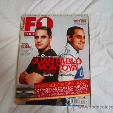 Coches: F1 RACING. ENERO 2002. JUAN PABLO MONTOYA. SCHUMI. TYRREL 012. ANDER VILARINO. Lote 37239887