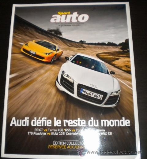 SPORT AUTO ( FRANCES ) - 587 - DICIEMBRE 2010 (Coches y Motocicletas Antiguas y Clásicas - Revistas de Coches)