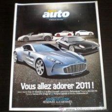 Coches: SPORT AUTO ( FRANCES ) - 588 - ENERO 2011. Lote 37261095