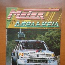 Coches: REVISTA DE COCHE MOTOR ANDALUCIA NUMERO 0 --- FEBRERO 1986. Lote 37423040