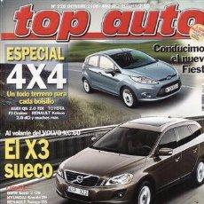 Coches: REVISTA TOP AUTO Nº 228 AÑO 2008. PRUEBA: MERCEDES CLC 220 CDI. AUDI TTS COUPÉ.. Lote 37441462