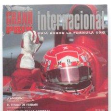 Coches: GRAND PRIX INTERNACIONAL - GUIA SOBRE LA FORMULA 1 - Nº 1 - 2001. Lote 37575914
