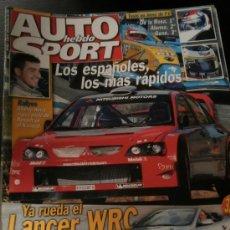 Auto: AUTO HEBDO SPORT Nº 953 - DIC 2003 - BMW 320CD / FORD FOCUS C MAX / VOLVO V50 / BMW 645 CABRIO. Lote 37578661