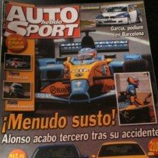 Auto: AUTO HEBDO SPORT Nº 918 - ABR 2003 - MERCEDES E55 AMG / AUDI A3 TDI / MITSUBISHI OUTLANDER / DAEWOO. Lote 228240905