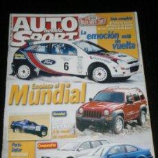 Coches: AUTO HEBDO SPORT Nº 802 - ENE 2001 - SEAT LEON CUPRA / PARIS DAKAR / FORMULA 1 / AUDI RS4. Lote 37614902