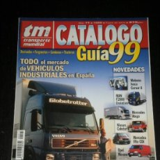 Coches: TRANSPORTE MUNDIAL TM CATALOGO Nº 11 - MERCEDES NISSAN IVECO VOLVO OPEL MAN. Lote 37775738
