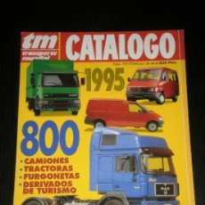 Coches: TRANSPORTE MUNDIAL TM CATALOGO Nº 7 - MERCEDES NISSAN IVECO VOLVO OPEL MAN. Lote 37775785