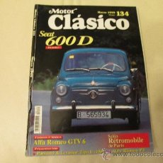 Coches: MOTOR CLASICO Nº 134 SEAT 600D. Lote 37925600