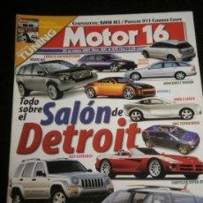 Coches: MOTOR 16 Nº 901 - ENE 2001 - MERCEDES C180 / RALLYE PARIS DAKAR / BMW 325 TDS / PORSCHE GTA - GTB. Lote 37946967
