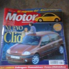 Coches: REVISTA AUTOMOVIL MOTOR MUNDIAL NUMERO 613 FEBRERO 1998 RF O1. Lote 38168845