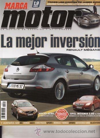 revista marca motor nº 61 año 2008. prueba: ren - comprar revistas