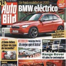 Coches: REVISTA AUTO BILD Nº 240 AÑO 2010. PRUEBA: FIAT PUNTO EVO 1.6 MULTIJET SPORT. VOLKSWAGEN 3.0 V6 TDI.. Lote 38341367