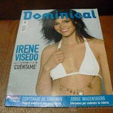 Coches: REV DOMINICAL 2/2003 IRENE VISEDO -GRAN RPTJE.JORGE WAGENSBERG,BISMARCK,LA CABRA MECANICA,BORA,BORA. Lote 38366002