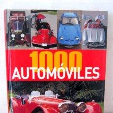Coches: GRAN LIBRO 1000 AUTOMOVILES DE NGV. Lote 38423474
