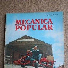 Coches: MECÁNICA POPULAR. REVISTA. FEBRERO DE 1966. DISEÑE SU PROPIO AUTO.. Lote 38428264
