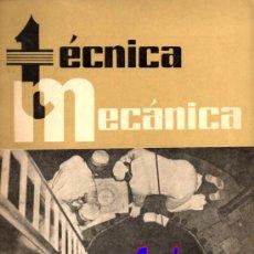 Coches: REVISTA TECNICA MECANICA. MECANICA, MOTORES Y AUTOMOVILES Nº 15 (PEDIDO MÍNIMO 20,.€). Lote 38808117