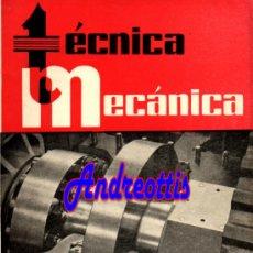 Coches: REVISTA TECNICA MECANICA. MECANICA, MOTORES Y AUTOMOVILES Nº 22 (PEDIDO MÍNIMO 20,.€). Lote 38808132