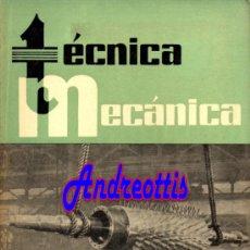 Coches: REVISTA TECNICA MECANICA. MECANICA, MOTORES Y AUTOMOVILES Nº 25 (PEDIDO MÍNIMO 20,.€). Lote 38808239