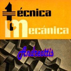 Coches: REVISTA TECNICA MECANICA. MECANICA, MOTORES Y AUTOMOVILES Nº 26 (PEDIDO MÍNIMO 20,.€). Lote 38808265
