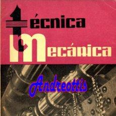 Coches: REVISTA TECNICA MECANICA. MECANICA, MOTORES Y AUTOMOVILES Nº 27 (PEDIDO MÍNIMO 20,.€). Lote 38808300