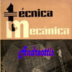 Coches: REVISTA TECNICA MECANICA. MECANICA, MOTORES Y AUTOMOVILES Nº 29 (PEDIDO MÍNIMO 20,.€). Lote 38808332