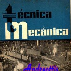 Coches: REVISTA TECNICA MECANICA. MECANICA, MOTORES Y AUTOMOVILES Nº 12 (PEDIDO MÍNIMO 20,.€). Lote 38808464