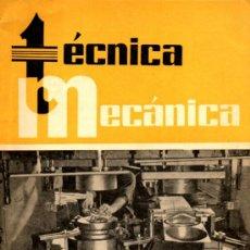 Coches: REVISTA TECNICA MECANICA. MECANICA, MOTORES Y AUTOMOVILES Nº 16 (PEDIDO MÍNIMO 20,.€). Lote 38808592