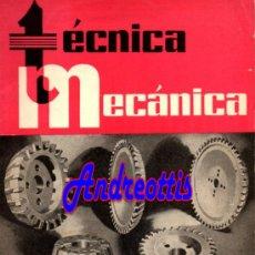 Coches: REVISTA TECNICA MECANICA. MECANICA, MOTORES Y AUTOMOVILES Nº 18 (PEDIDO MÍNIMO 20,.€). Lote 38808625