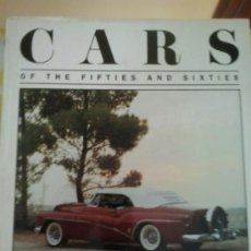 Coches: LIBRO -CARS OF THE FIFTIES AND SIXTIES-MICHAEL SEDGWICK-INGLES . Lote 38902878