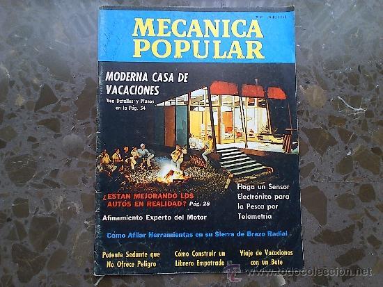 MECANICA POPULAR. JULIO 1968. (Coches y Motocicletas Antiguas y Clásicas - Revistas de Coches)