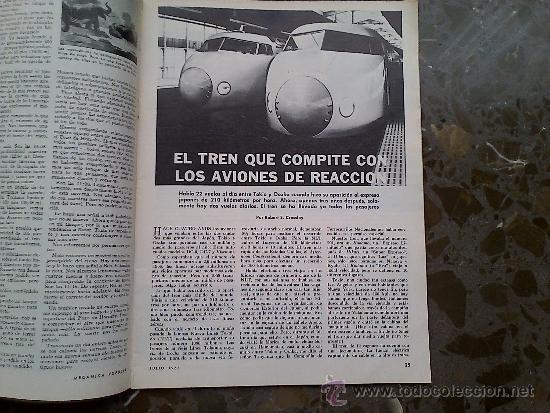 Coches: MECANICA POPULAR. JULIO 1968. - Foto 2 - 33775571