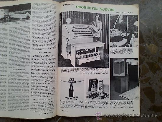 Coches: MECANICA POPULAR. JULIO 1968. - Foto 4 - 33775571