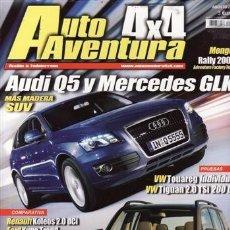 Coches: REVISTA AUTO AVENTURA 4X4 Nº AGOSTO AÑO 2008. PRU: VW TOUAREG TDI V6 INDIVIDUAL. VWTIGUAN 2.0 TSI.. Lote 38988904
