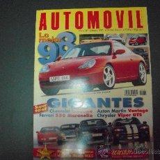 Coches: REVISTA AUTOMOVIL OCTUBRE 1997 Nº 237. Lote 39116643