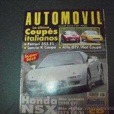 Coches: REVISTA AUTOMOVIL SEPTIEMBRE 1997 Nº 236. Lote 39116661