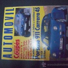 Coches: REVISTA AUTOMOVIL ENERO 1996 Nº 216. Lote 39116891